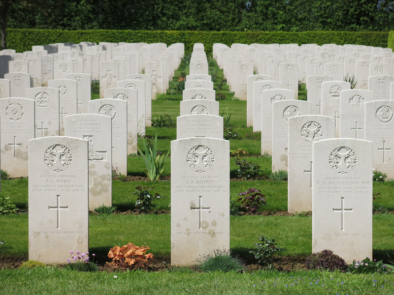 German and commonwealth cemetaries at Saint Désir de Lisieux