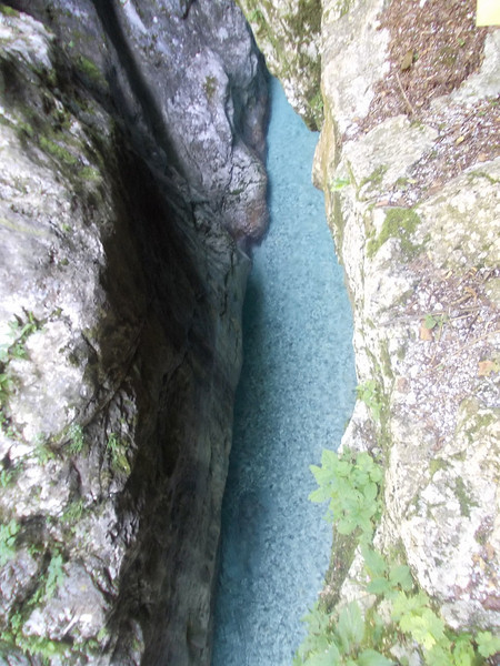 Swimming pool? @ Tolmin gorge