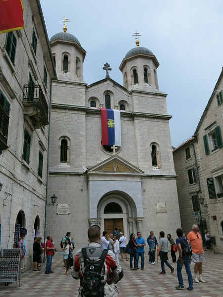 Playing the tourist at the old town of Kotor