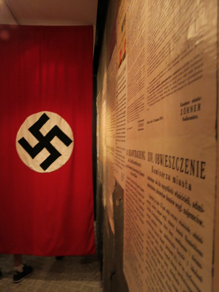 Posters from during the Nazi occupation
