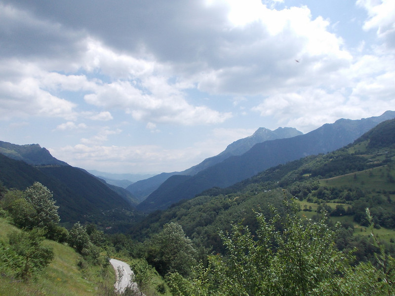 beautiful landscape near Savnik, Montenegro