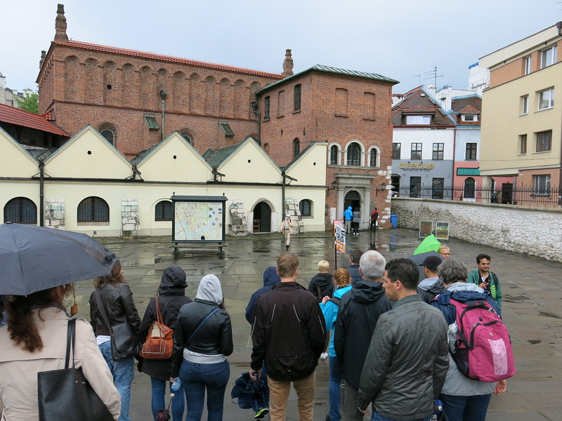 Guided tour through the main Jewish quarters