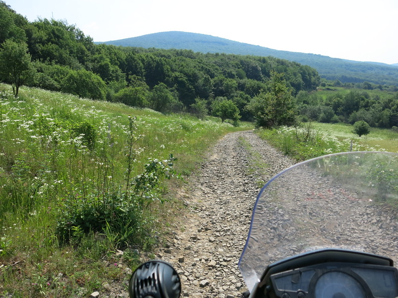 Gravel in the Carpathians