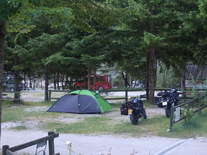Camp no. 2 in Trenta, Slovenia