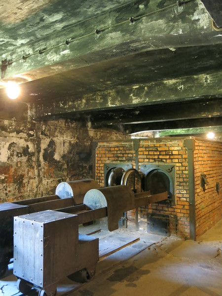 Crematorium at Auschwitz I