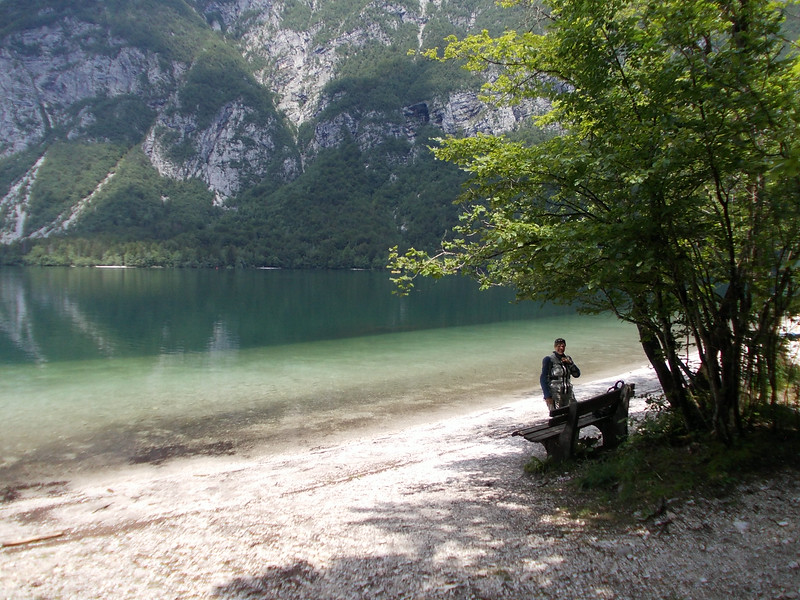 Picknick at Bohinjsko Jezero