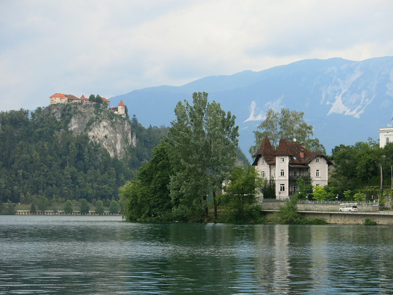 Castles overlooking Lake Bled