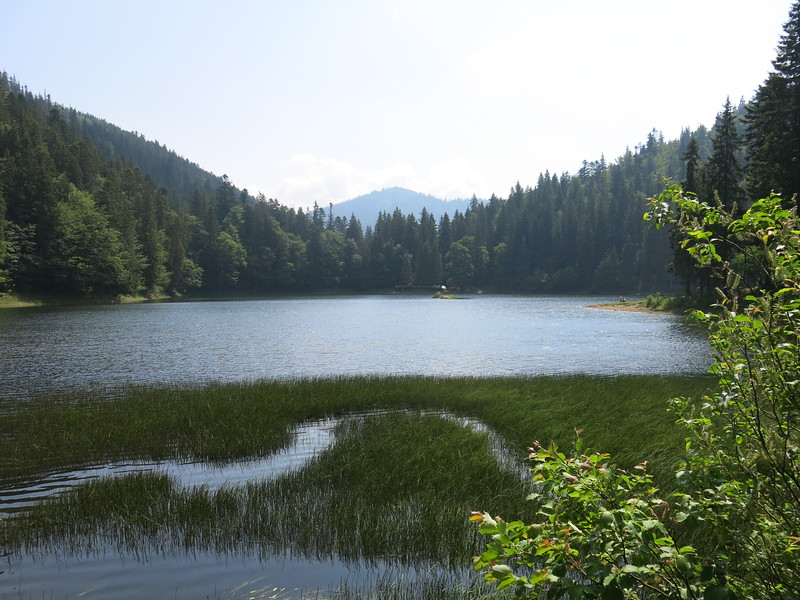 Lake view from the far side