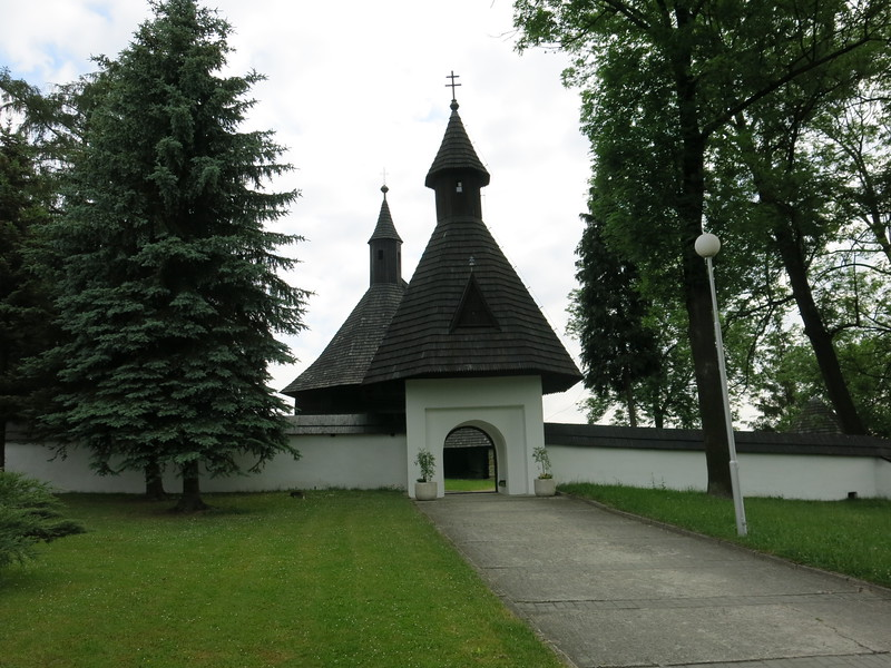 Gothic wooden church at Tvrdosin