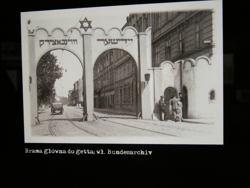 Jewish ghetto entrance