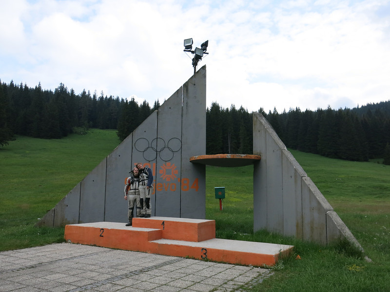 The (in)famous stage of the 1984 Olymipcs