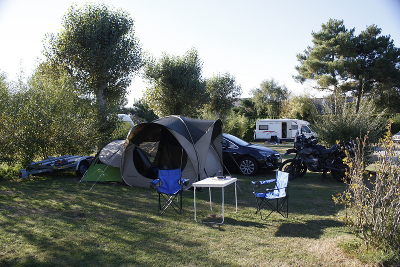 Campsite in Saint-Lunaire