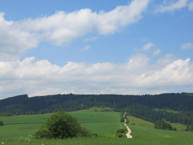 Beautiful Slovakian countryside