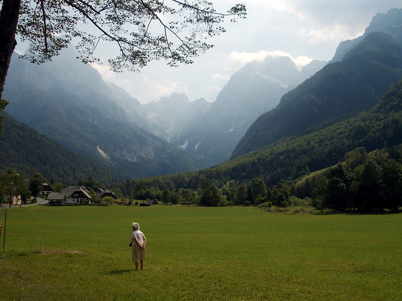 Beautiful landscape near Bovec, Slovenia