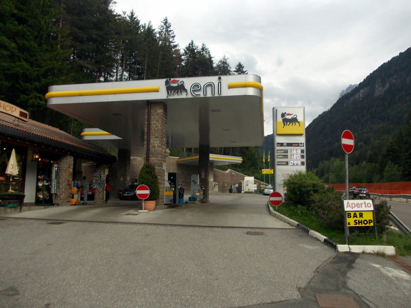 expensive fuel in Italy