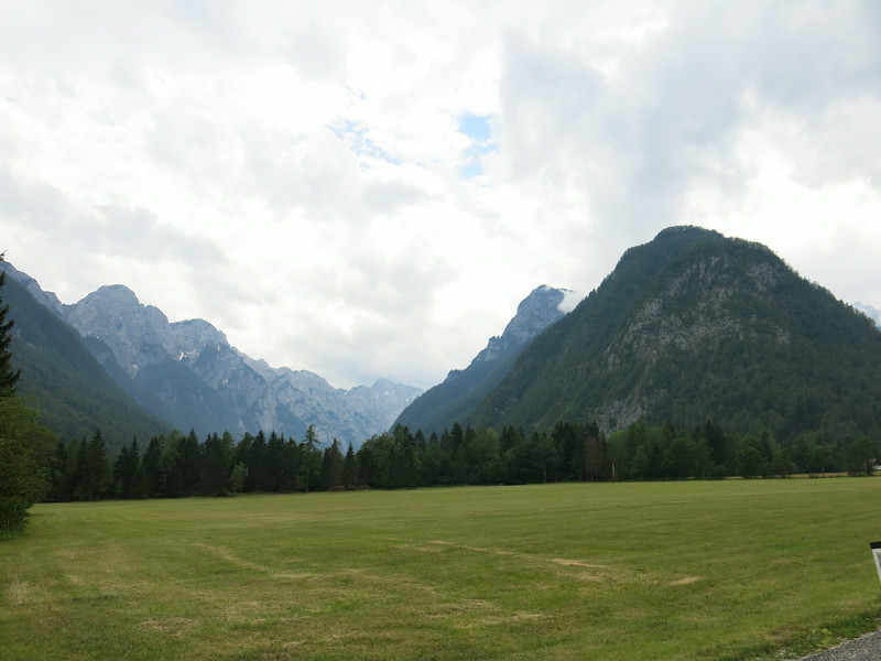 On the way to Vršič pass