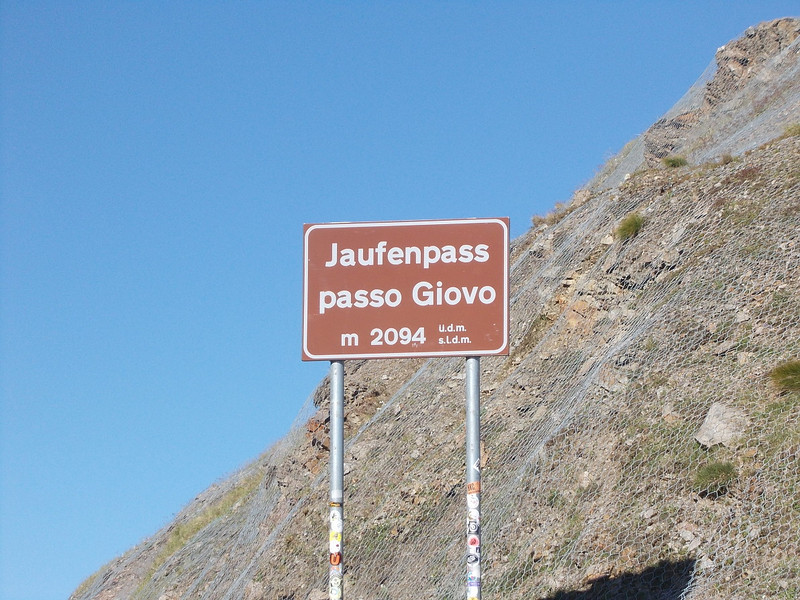 Beautiful landscape @ Jaufenpass, Italy