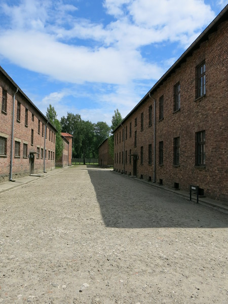 In between barracks