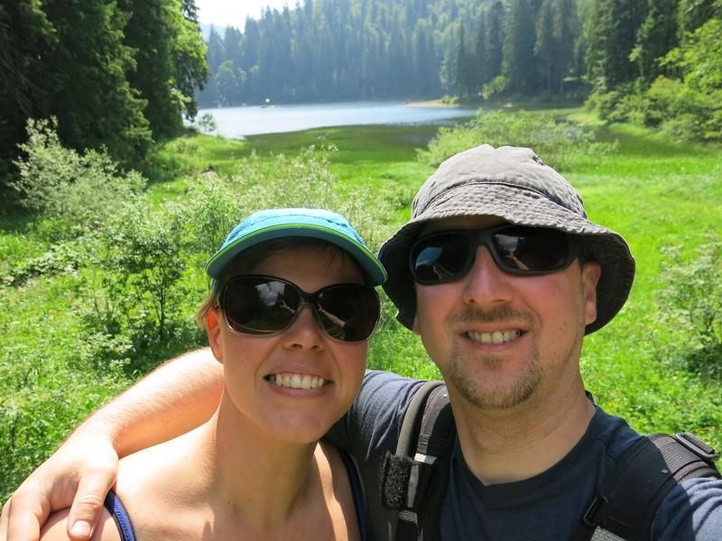 Selfie at Lake Sinevir