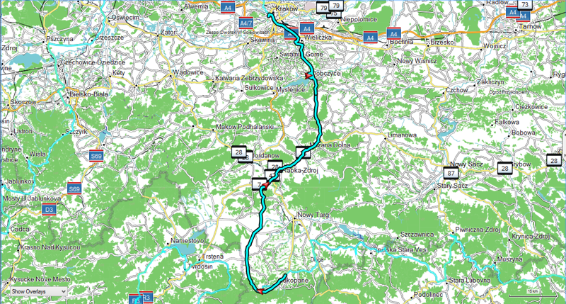 Day 14 - June 19 - Route
