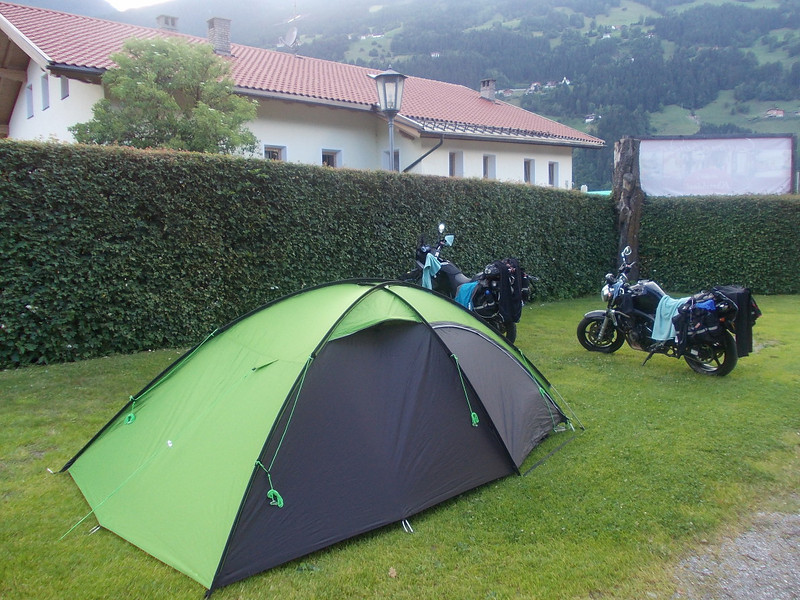 Camp no. 1 in Zell am Ziller, Austria