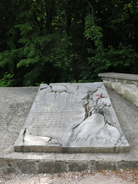 Artistic commemoration of the victims of the Dukla pass battle