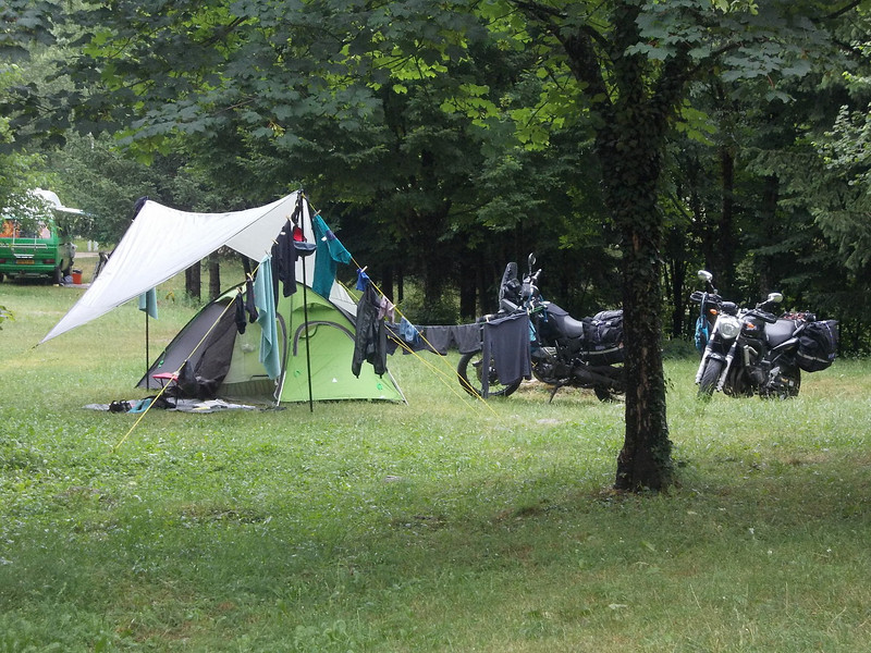 Camp no. 3 at Plitvicka Jezera, Croatia