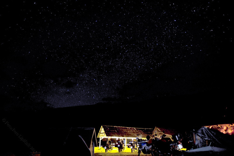Starry starry night!  @ Eko Katun Vranjak camp site in Kolasin, Montenegro. Image courtesy of Ivan Lipičnik