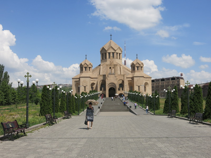 Yerevan cathedral of Saint Gregory the Illuminator