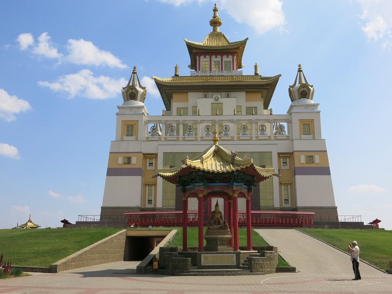 The Golden Temple in Elista