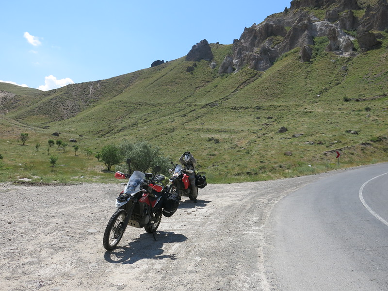 Short break on our way to the Armenian border