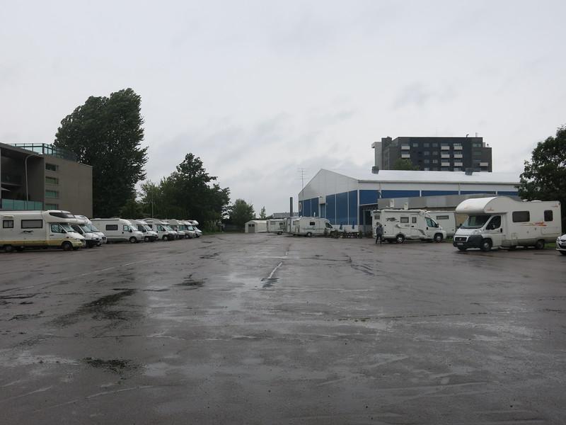 Tallinn city camp site
