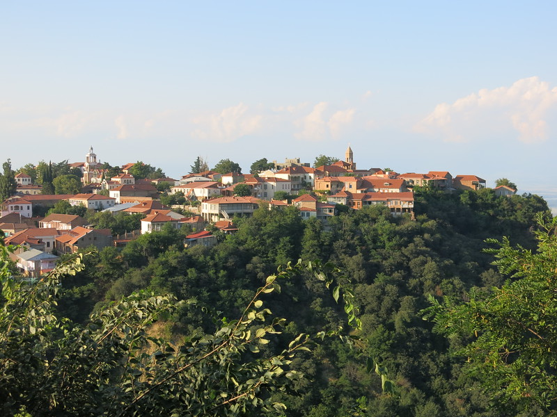 Sighnaghi in Kakheti region