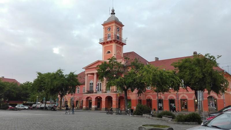 Town hall in Sombor