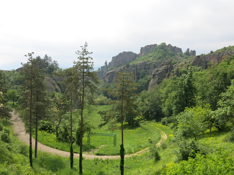 Stunning rock formations in Belogradchik, Bulgaria