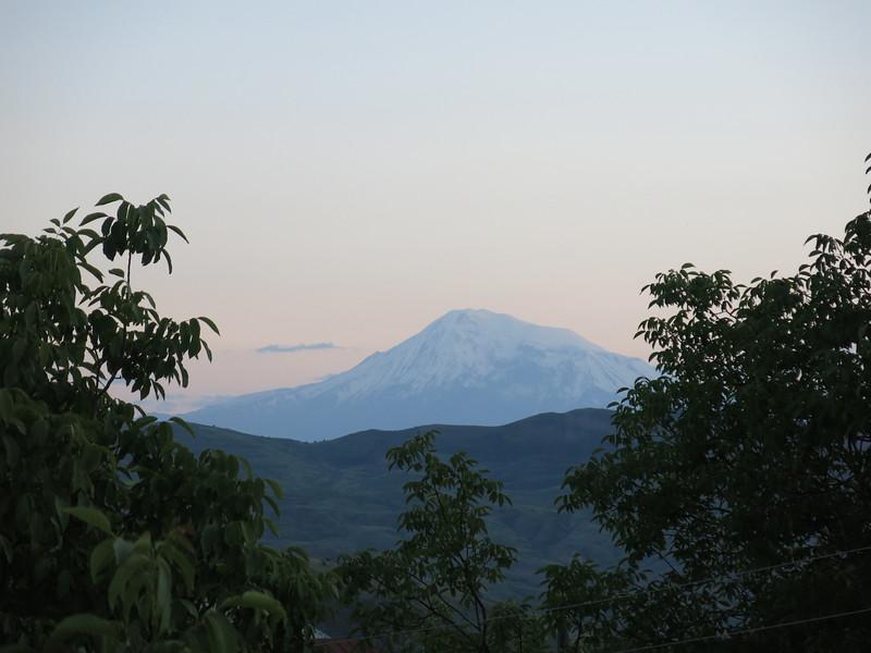 Mount Ararat at dusk