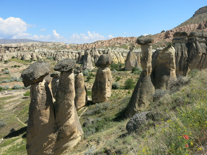 Fairy chimneys in çavusin