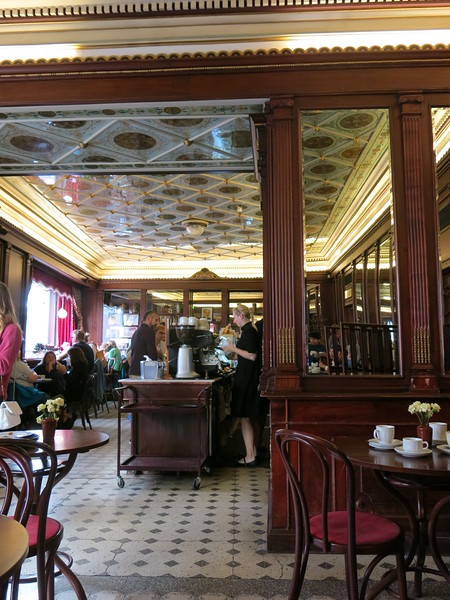 The oldest coffee house in Tallinn
