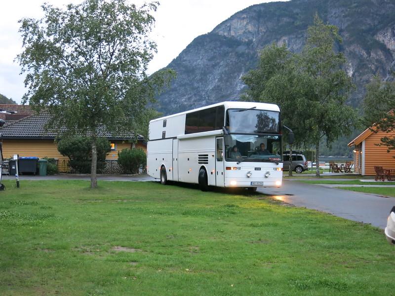 Camper van bus