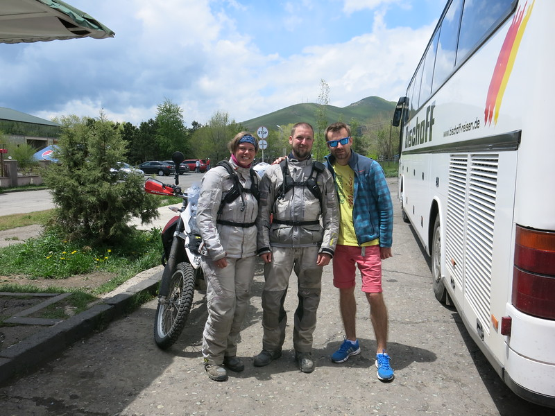 Meeting Yvan, an ex-enduro competition rider from Russia