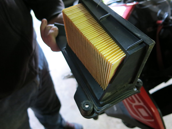 Relatively clean OEM air filter
