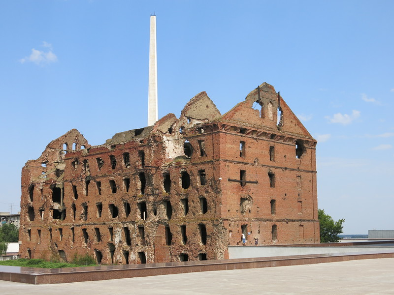 """The Mill"" stands as a reminder of tenacious resistance against all odds in Stalingrad"