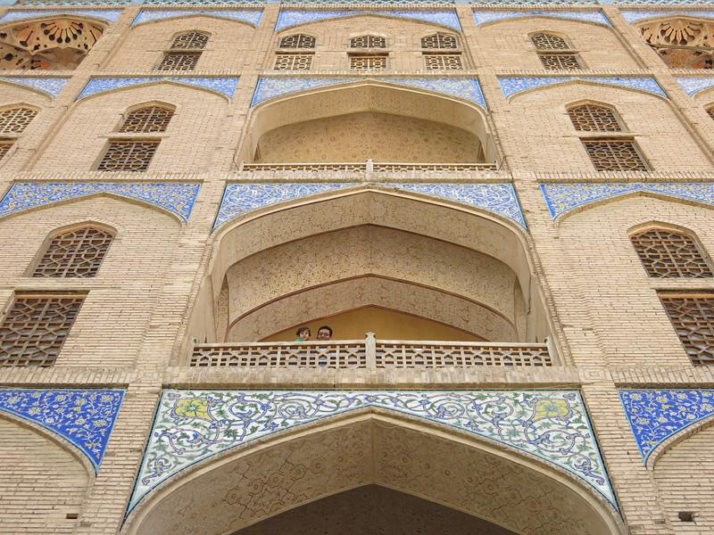 Back of Ali Qapu palace, Esfahan