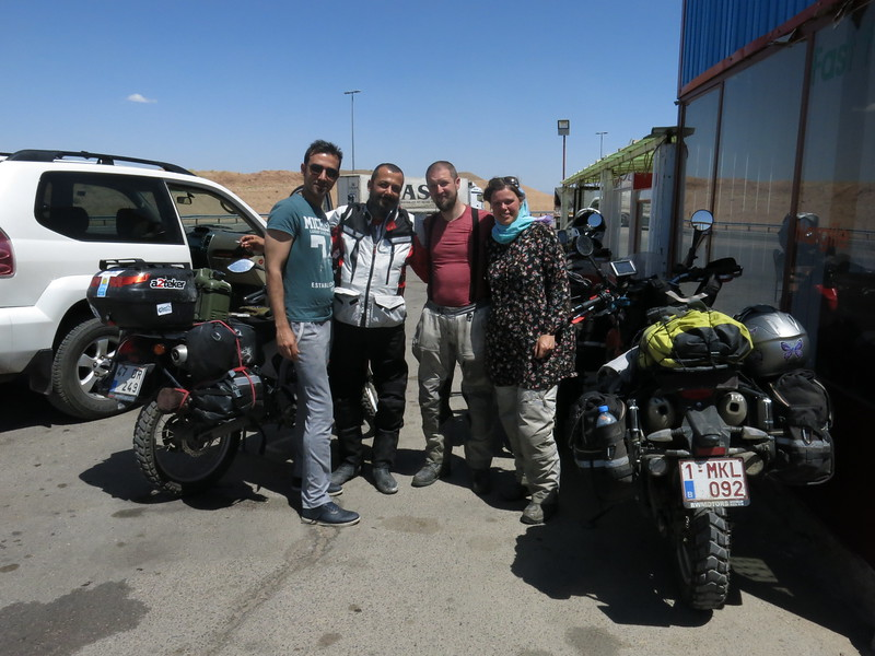 Ersin, a Turkish biker riding to Nepal