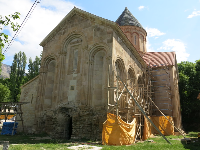 Church under restoration in Eastern Turkey