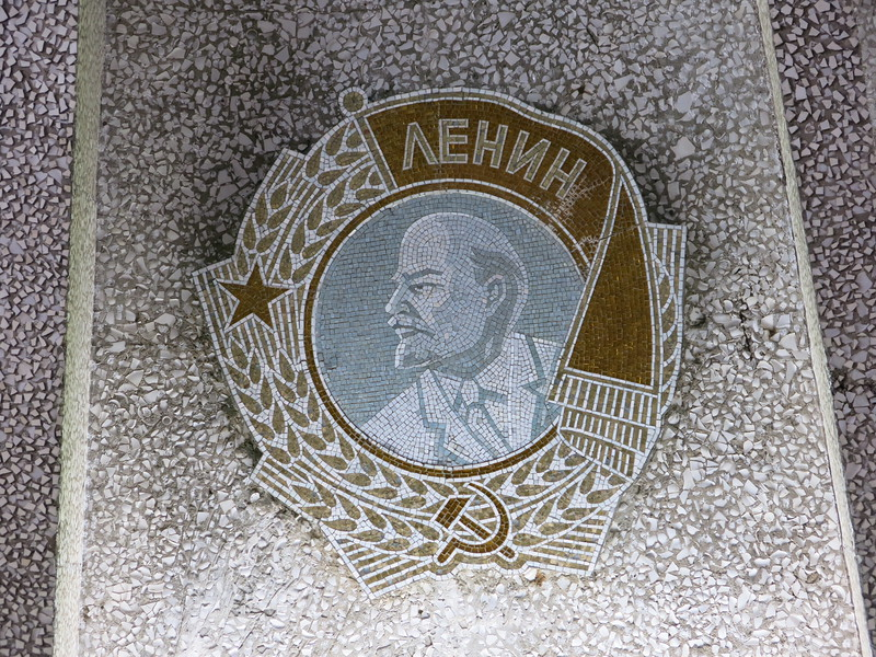 Lenin on the roof