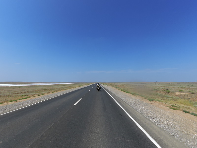 Between Astrakhan and Elista