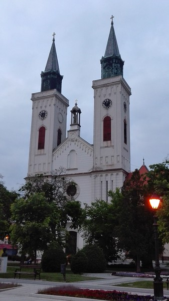 Carmelite church in Sombor