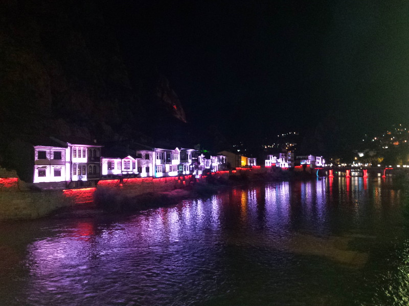 Amasya by night
