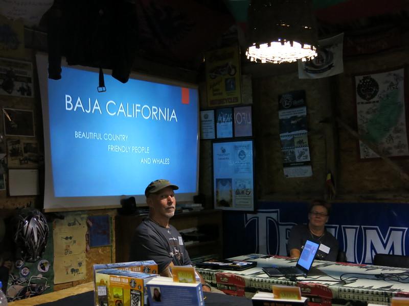 WandRR presentation on Baja